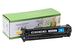 Replacement Cyan Toner Cartridge for HP CB541A 125A
