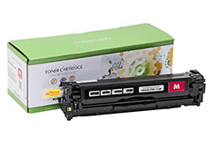 Replacement Magenta Toner Cartridge for HP CB543A 125A