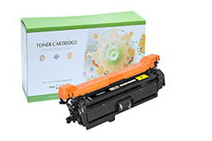 Replacement Yellow Toner Cartridge for HP CE252A 504A