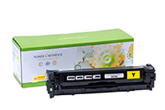 Replacement Yellow Toner Cartridge for HP CE322A 128A