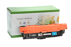 Replacement Cyan Toner Cartridge for HP CF321A 653A