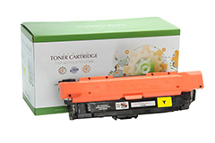 Replacement Yellow Toner Cartridge for HP CF322A 653A