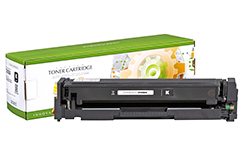 Replacement Standard Yield Black Toner Cartridge for HP CF400A 201A