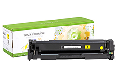 Replacement Standard Yield Yellow Toner Cartridge for HP CF402A 201A