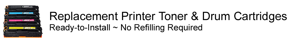 Replacement Printer Toner & Drum Cartridges
